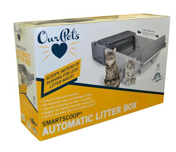 smartscoop automatic noscoop kitty litter system