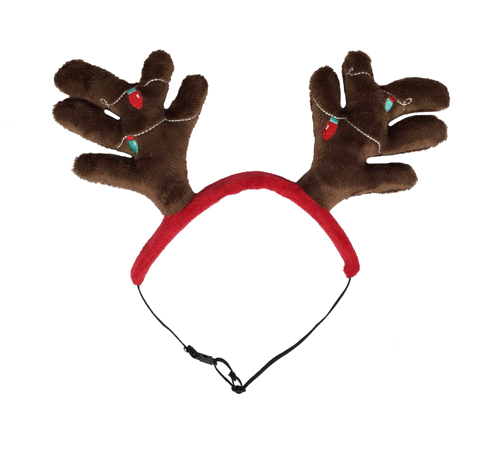 Outward Hound Christmas Antler Headband Dogs Accessories