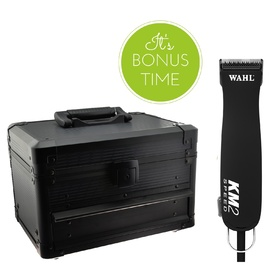 Wahl KM2 Pet Clipper + BONUS Storage Case