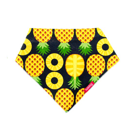 Hot Dog Cotton Bandana - Pineapples