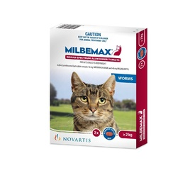 Milbemax All-Wormer for Cats 2-8kg