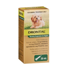 Drontal Suspension Syrup for Puppies - 30ml