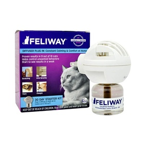 Feliway Diffuser Kit for Anxious Cats - pheromone