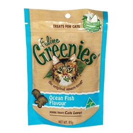 Greenies Cat Dental Treats - Ocean Fish 85g