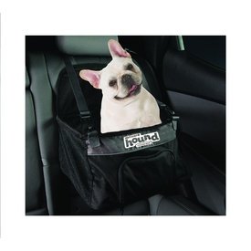 Elevated Car Booster Seat for Dogs - Small - Black