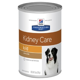 Hills Prescription Diet Canine K/D Renal Health with Lamb 12 cans x 370g