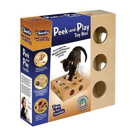 Smart Cat Peek-and-Play Cat Toy Box