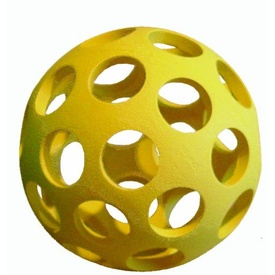 JW HOL-EE Bowler Rubber Lattice Dog Ball