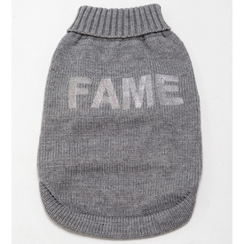 """Fame"" Embroidered Wool Jumper by Sasha & Me"