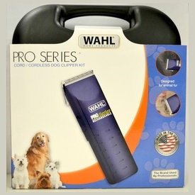 Wahl Pro Series Cordless Pet Clipper Kit - Ltd Edition Purple Clipper