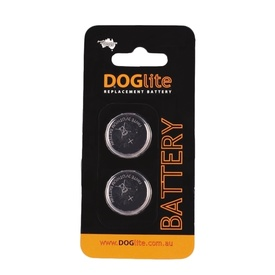 DogLite Replacement Battery Refills CR1220/CR2032 - 2-pack