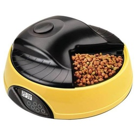 Automatic Programmable Pet Feeder for 4 Meals with LCD Screen