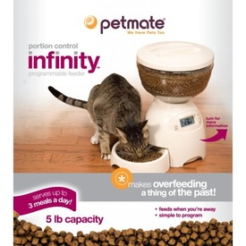 Petmate Infinity Programmable Automatic Pet Feeder - 2.25kg