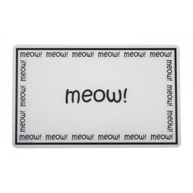 Meow Pet Food Placemat