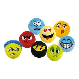 Cosmic Catnip Rattle Cat Toys - Geeks, Ninjas, Nauseous, Caffeinated, Angry, Crazy Faces