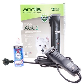 Andis AGC 2-speed Super-Duty Black Pet Clipper