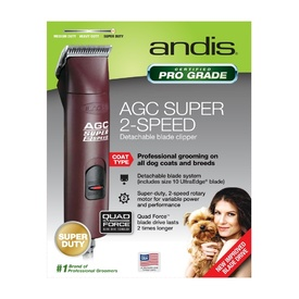 Andis AGC 2-Speed Super Duty Pro-Clip Pet Clipper - Ltd Edition Brown