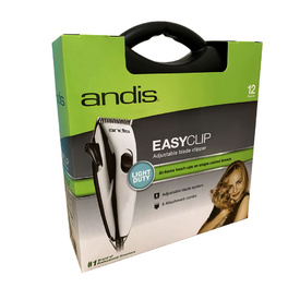Andis Easy Clip Light Duty Adjustable Blade 12-Piece Pet Clipper Kit