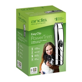 Andis Easy Clip Power Trim Cordless Pet Trimmer