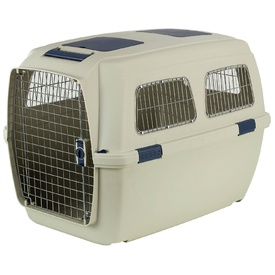 Marchioro Clipper IDHRA 4 Pet Carrier Beige/Blue - Large - Airline Approved