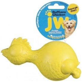 JW RUFFIANS CHICKEN Medium (17cm) Dog Toy