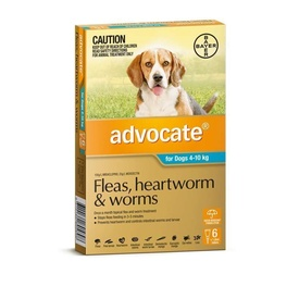 Advocate Flea & Worm Control for Dogs 4-10kg