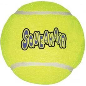 KONG AirDog Squeaker Tennis Ball - Large