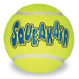 KONG AirDog Squeaker Tennis Ball - Medium