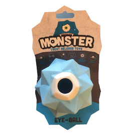 "Monster ""Eye Ball"" Treat Release Interactive Dog Toy"