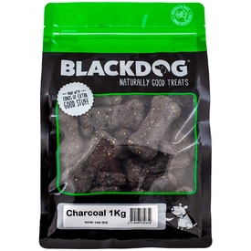 Black Dog Baked Charcoal Dog Biscuits 1kg