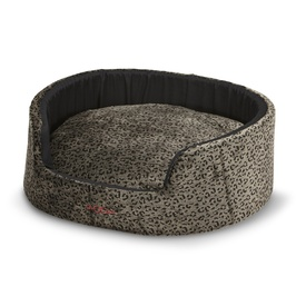 Snooza Buddy Pet Bed - Velvet Safari Animal Print