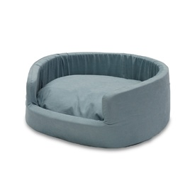 Snooza Round Buddy Pet Bed - Metro Sky