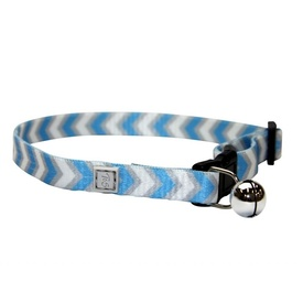 "T&S Safety Breakaway ""Blue Glow"" Cat Collar"