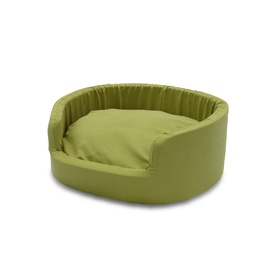 Snooza Buddy Pet Bed in Metro Avocado - Medium