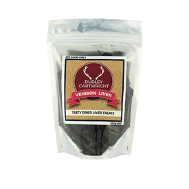 New Zealand Dried Venison Liver Dog Treat 200g
