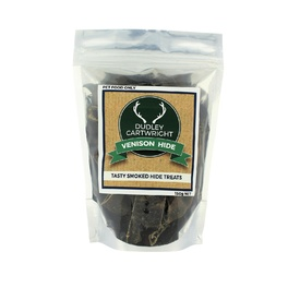 Dudley Cartwright New Zealand Smoked Venison Hide Dog Treat 110g
