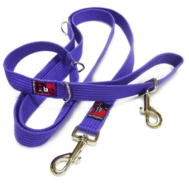Black Dog Halter Double Lead for Dog Training - Small