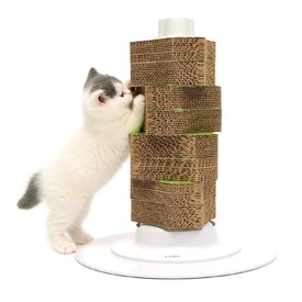 Catit 2.0 Cardboard Scratch Tower for Cats