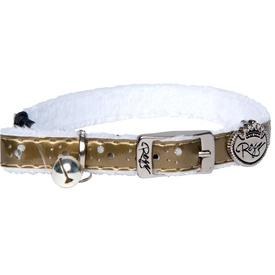 Rogz Catz TrendyCat Buckle Cat Collar - Gold