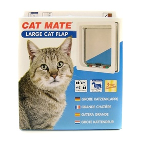 Cat Mate Large Cat Door 4-Way Lock
