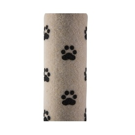 Snooza Cat Scratch Pole Replacement Cover Beige with Paws