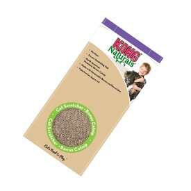 KONG Naturals Double-Sided Cardboard Scratcher for Cats