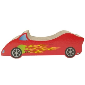 "Catit Cardboard Cat Scratch Lounger ""HotRod Car"""