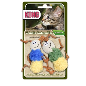 KONG Naturals Crinkle Caterpillars Cat Toy