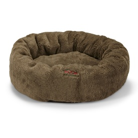 Snooza Cuddler Pet Bed - Mock Lambswool Brown