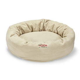 Snooza Cuddler Pet Bed - Polarfleece in Sand
