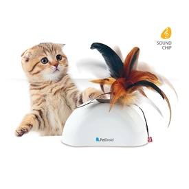 GiGwi Pet Droid Feather Hider Interactive Cat Toy