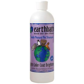 Earthbath Light Colour Coat Brightener Shampoo 472ml