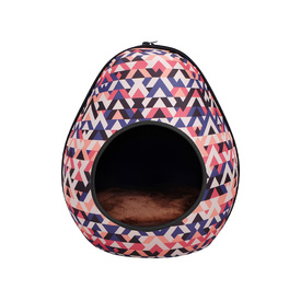 IBIYAYA Gourd Pet House & Enclosed Bed - Triangle