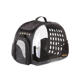 IBIYAYA Hard Rock Transparent Hardcase Pet Carrier